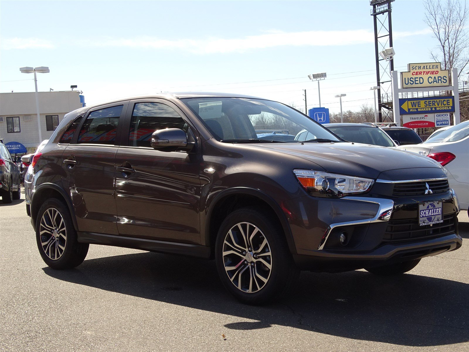 new 2017 mitsubishi outlander sport es 2 0 sport utility in new britain 12077 schaller mitsubishi. Black Bedroom Furniture Sets. Home Design Ideas